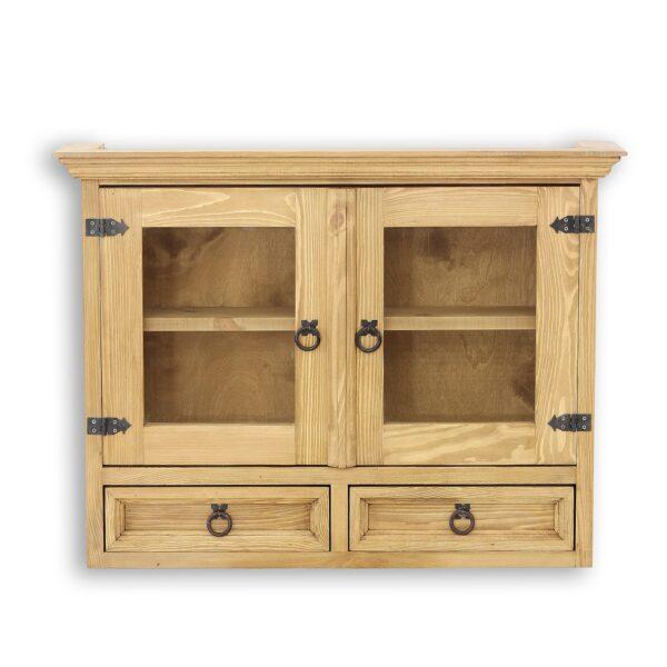 drewniana szafka wisząca meble