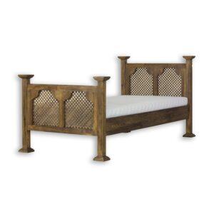łóżko ażurowe