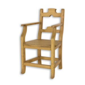 fotel woskowany