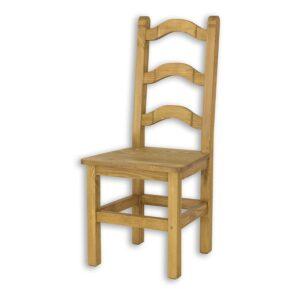 Drewniane krzesło kuchenne