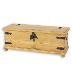 skrzynia woskowana z drewna