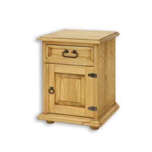 szafka nocna woskowana rustykalna