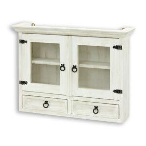 Biała szafka wisząca kuchenna