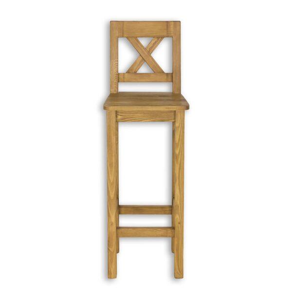 krzesło wysokie z oparciem