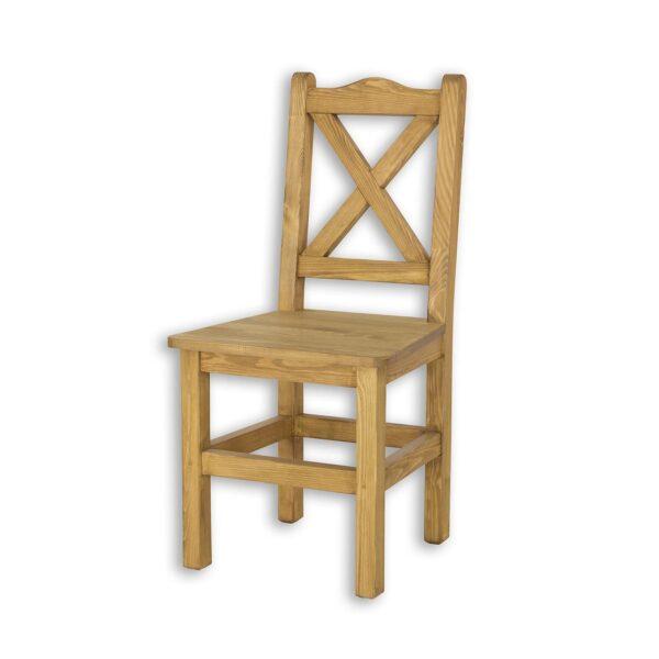 Krzesło drewniane sil 02