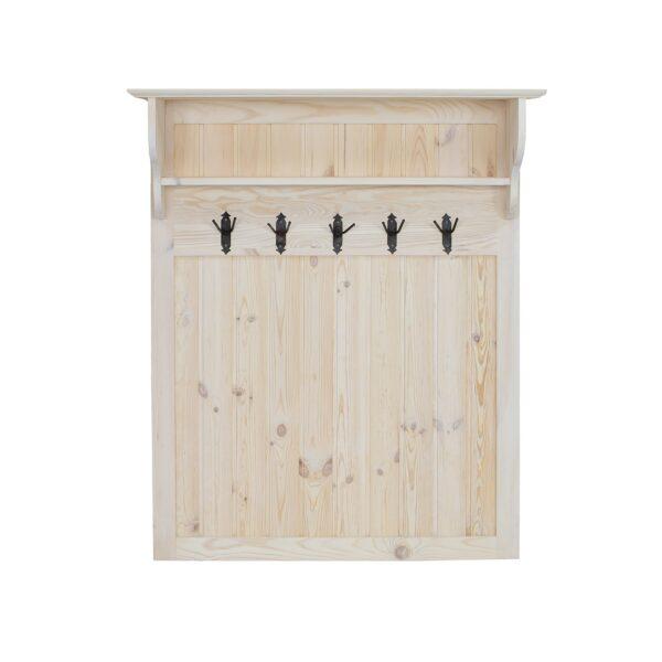sosnowa garderoba drewniana do przedpokoju