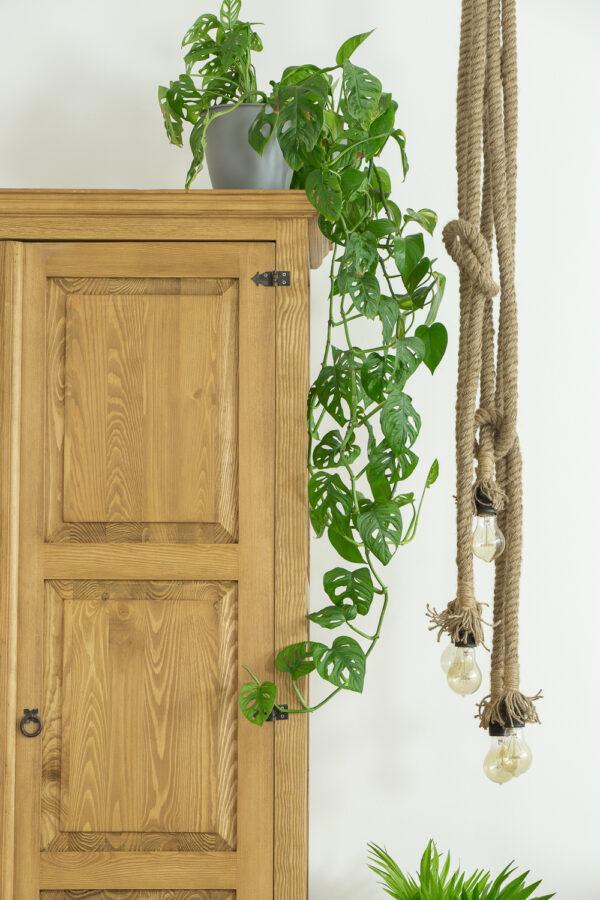 szafa drewniana woskowana