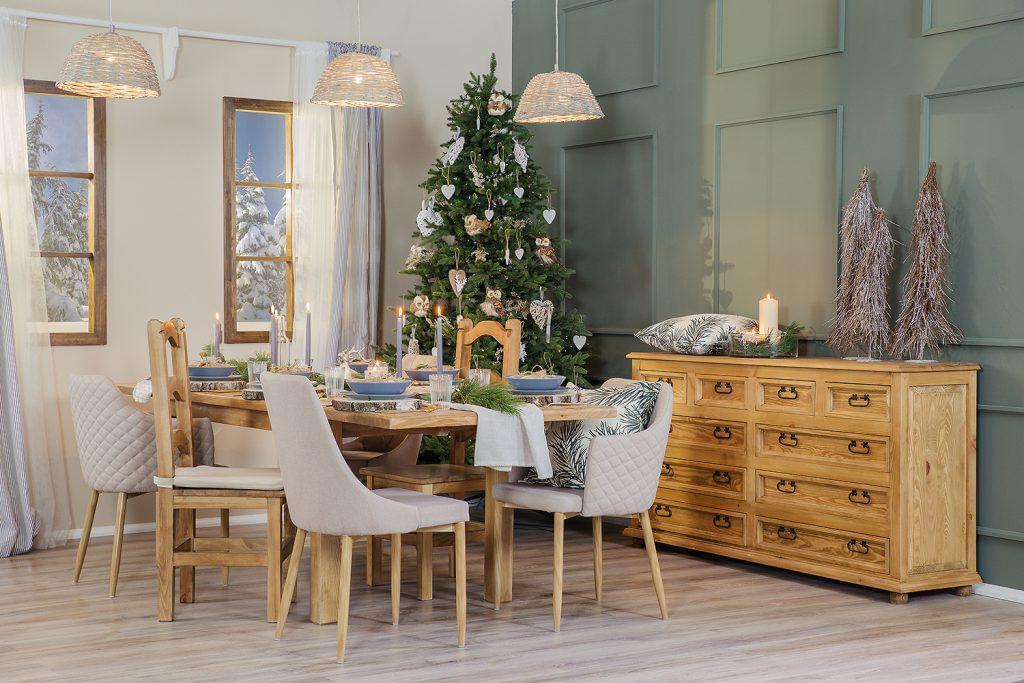 Zrób swoim bliskim prezent na Święta i zasiądź do Wigilii przy nowym stole