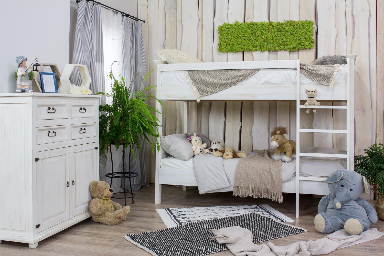 Łóżko piętrowe – królestwo naszych najmłodszych