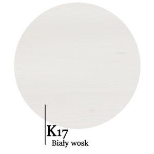 Próbnik kolorów biały wosk