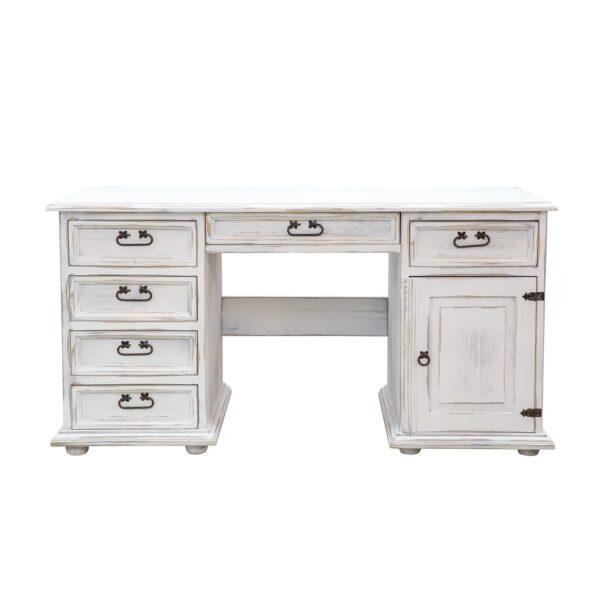 biurko drewniane rustykalne retro