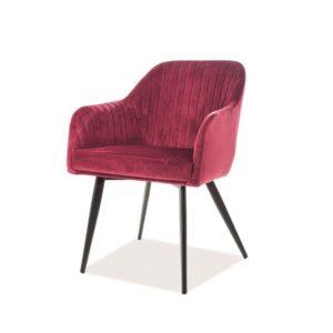 piękne krzesło elina velvet