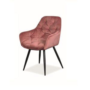 wygodne krzesło Cherry Velvet