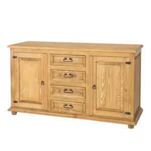 komoda woskowana drewniana