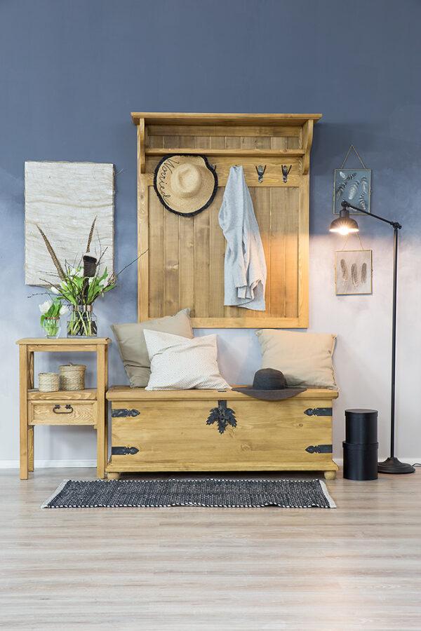 skrzynie drewniane ozdobą każdego wnętrza