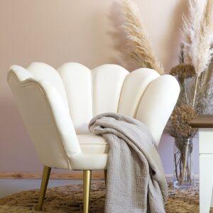 fotel rosalina biały