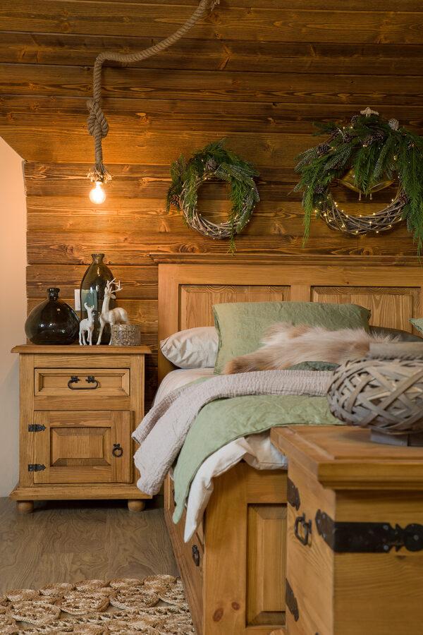meble z drewna rustykalnie