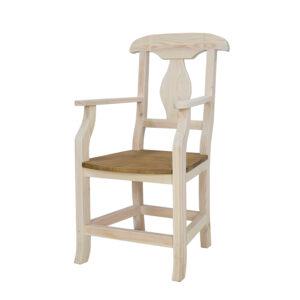 meble woskowane wyprzedaż fotel
