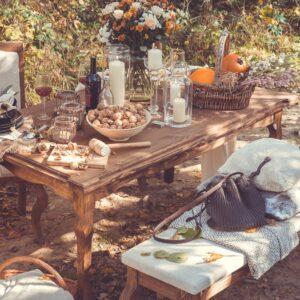 stół woskowany LUD 01