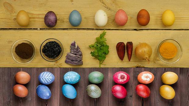 pomysły na barwienie jajek