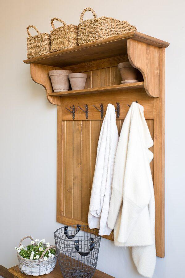 garderoba drewniana