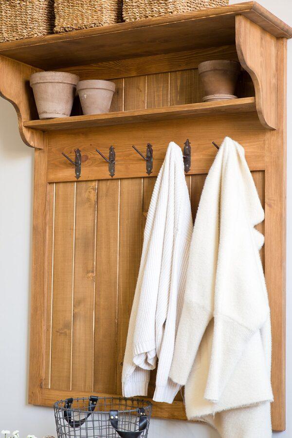 garderoba woskowana