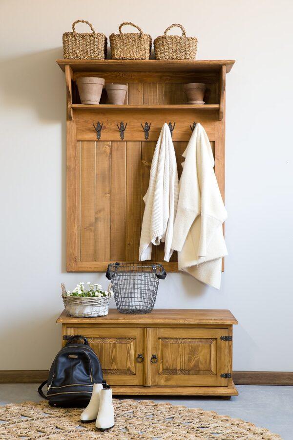 garderoba drewniana meble drewniane do przedpokoju