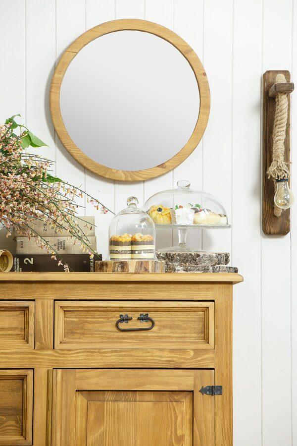 komoda do salonu z lustrem