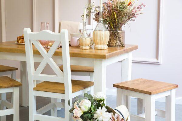 stół biały kuchenny