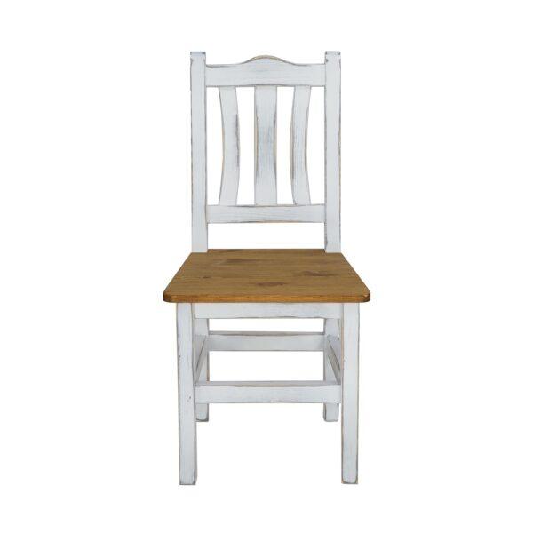 białe krzesła kuchenne