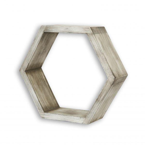 drewniana półka ścienna
