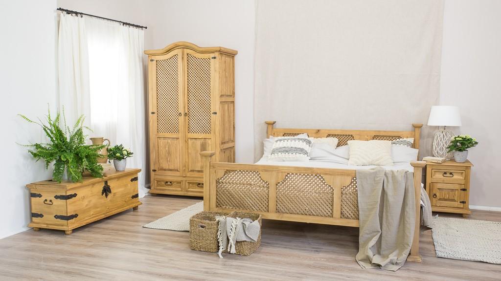Łóżko woskowane ACC 08