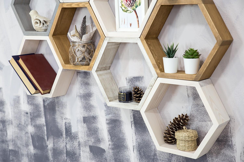 Półki-ścienne-lite-drewno