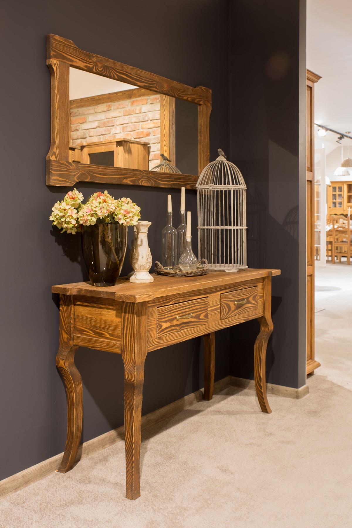 Stolik drewniany woskowany LUD 20